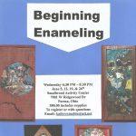 Beginning Enamel Jewelry Class