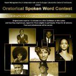 Oratorical Spoken Word Contest
