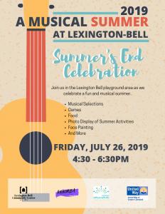 Lexington-Bell Summer's End Celebration