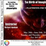 Playwriting for Teens, The Birth of Imagination Workshop Series