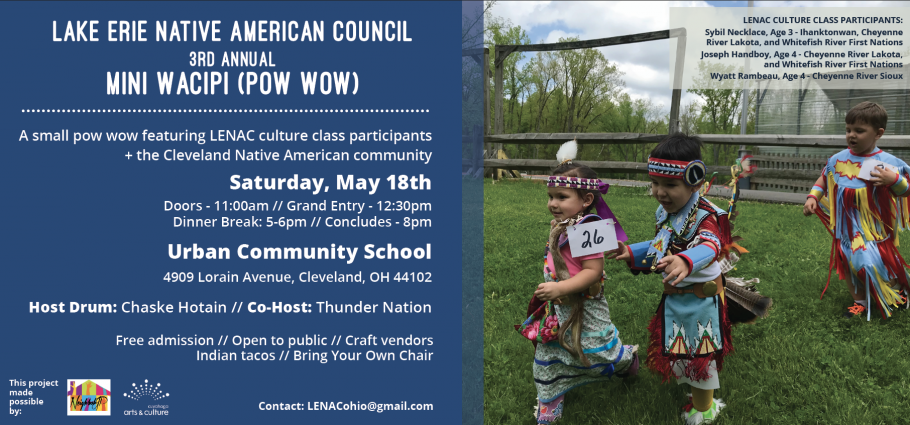 LENAC 3rd Annual Mini Wacipi (Pow Wow) presented by Lake