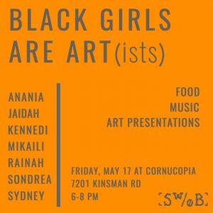Black Girls Are Art(ists)