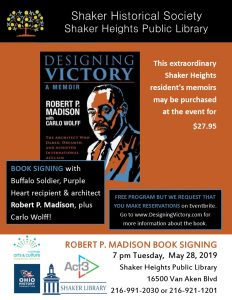 Designing Victory; A Memoir - Book Signing with Ro...