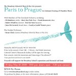 Paris to Prague: An Intimate Evening of Chamber Music