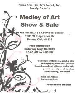 Medley of Arts Show & Sale