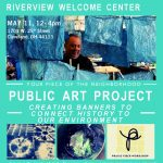Free Praxis Fiber Workshop and Ice Cream - Create Public Art! Saturday, May 11 from noon to 4pm.