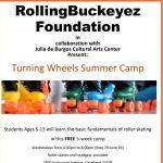Turning wheels skate camp