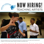 Teaching Artist Job Opportunity (Part-Time)