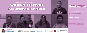 14th Annual Ward 5 Community Family Festival and P...