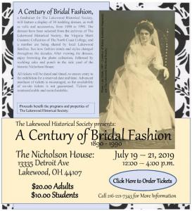 A Century of Bridal Fashion, 1890-1990