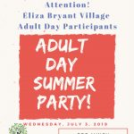 Eliza Bryant Village's Adult Day Summer Party