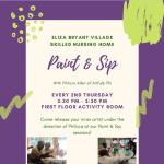 Eliza Bryant Village's Skilled Nursing Home Paint & Sip