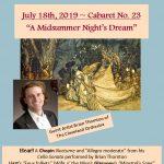 """Classical Cabaret No. 23 - """"A Midsummer Night's Dream"""""""