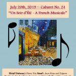 """Classical Cabaret No. 24 - """"Un Soir d'Éte - A French Musicale"""""""