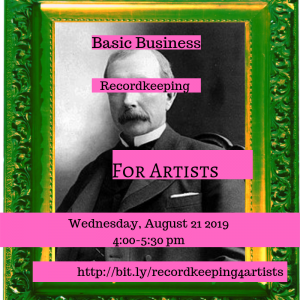 Basic Business Recordkeeping for Artists