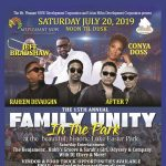 Family Unity In The Park