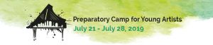 Preparatory Camp for Young Artists Faculty Performance