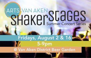 Shaker Stages - Summer Concert Series