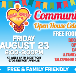 Community Open House Celebration!