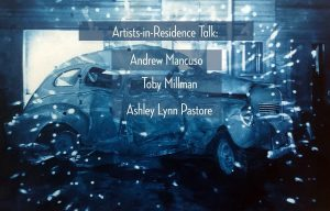 August Artists-in-Residence Talk