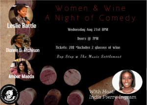 Women and Wine: Night Of Comedy