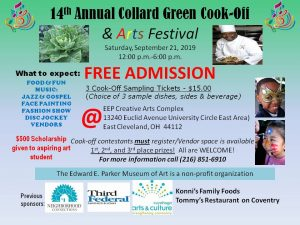 14th Annual Collard Green Cook-off & Arts Fest...