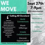 WE MOVE Cleveland Dance Artist Mixer