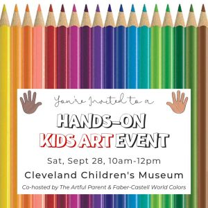 Hands-On Kids Art Event by Faber-Castell USA and The Artful Parent