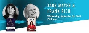 Writers Center Stage presents: Jane Mayer & Fr...