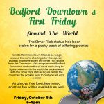 Bedford Downtown's October First Friday: Around The World