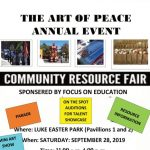 FOCUS ON EDUCATION AND THE ARTS OF PEACE RESOURCE FAIR