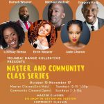 Mojuba Dance Collective Incubator Master Class Series
