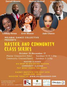 Mojuba Dance Collective Incubator Master Class Ser...