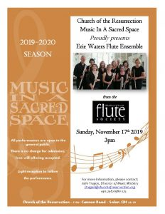 Music In A Sacred Space - Erie Waters Flute Ensemb...