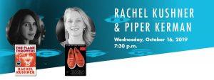 Writers Center Stage presents: Rachel Kushner &amp...