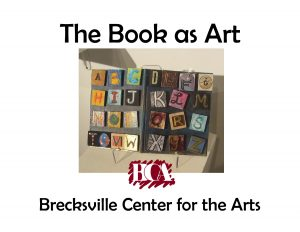 """Art Books Cleveland, """"The Book as Art"""" - Artist's Reception"""