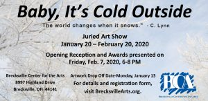 Call For Artists: Baby, It's Cold Outside