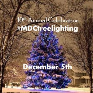 May Dugan Center Tenth Annual Tree Lighting
