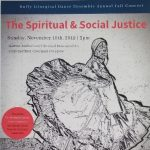 The Spiritual and Social Justice, A Concert