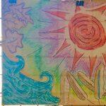 Art Display for Art Helps and Heals Art Therapy Open Art Studio