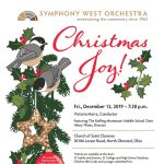 Christmas Joy - Symphony West Annual Holiday Concert