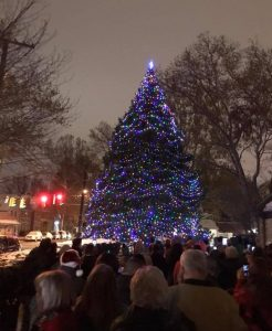 May Dugan Center Annual Tree Lighting Ceremony