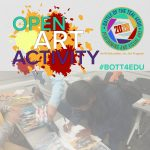 Battle of the Teal 4EDU art activity - Akron Main Library