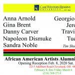 CWRU Distinguished Alumni American Artists Art Show 2020 / Curator Tim Shuckerow
