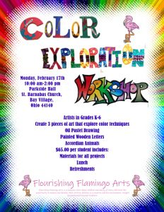 FFA Color Exploration Art Workshop