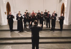 """Quire Cleveland, Jay White conducting. """"Journey Home: Finding Unity After Loss."""""""