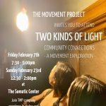 Community Connections - A Movement Exploration
