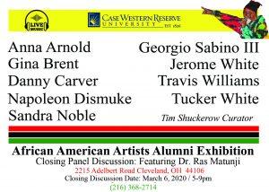 CWRU Distinguished Alumni African American Artists Panel Discussion 2020