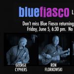 Blue Fiasco at Comida Hudson
