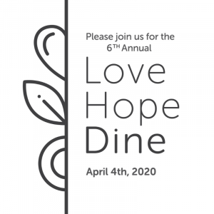 Love. Hope. Dine. 2020